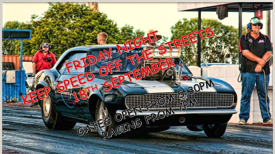Keep Speed off the Streets – Palmyra Dragway