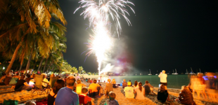 Fireworks on the Foreshore | Whitsunday Reef Festival