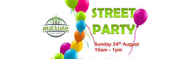 Marian Town Centre street party