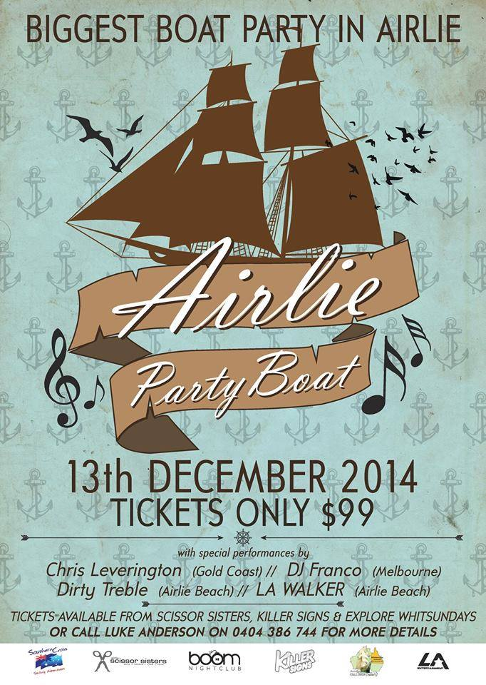Airlie Party Boat – Biggest Boat Party in Airlie Beach