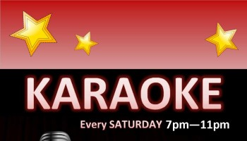 Saturday Night Karaoke  logo